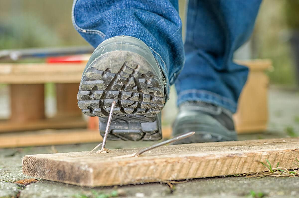 nail boot workplace accident attorney