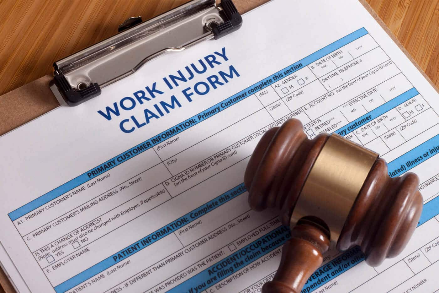 Worker's Comp Claim Form Las Vegas