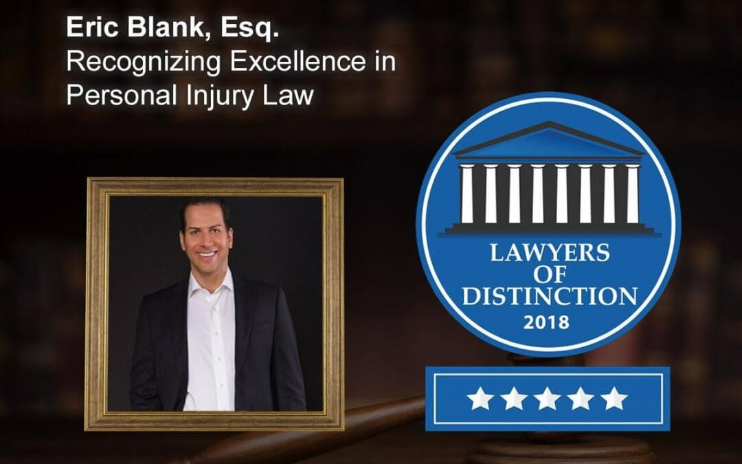 Eric Blank Lawyer Of Distinction