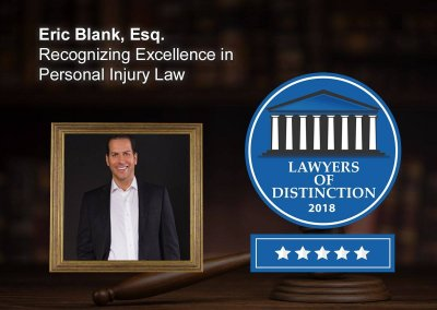 Eric Blank Lawyer Of Distinction