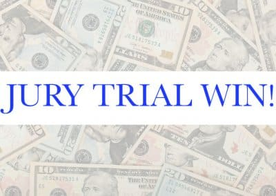 Congrats Darren J. Lach, Esq. – Another Jury Trial WIN!