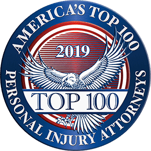 Announcing the selection of Eric Blank Injury Attorneys among America's Top 100 Personal Injury Attorneys® for 2019