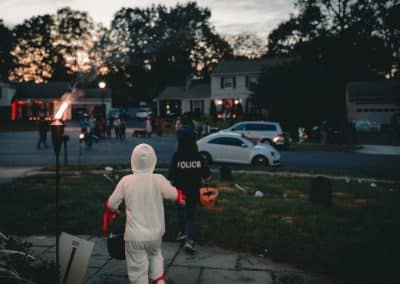 Trick or Treat: Road Safety