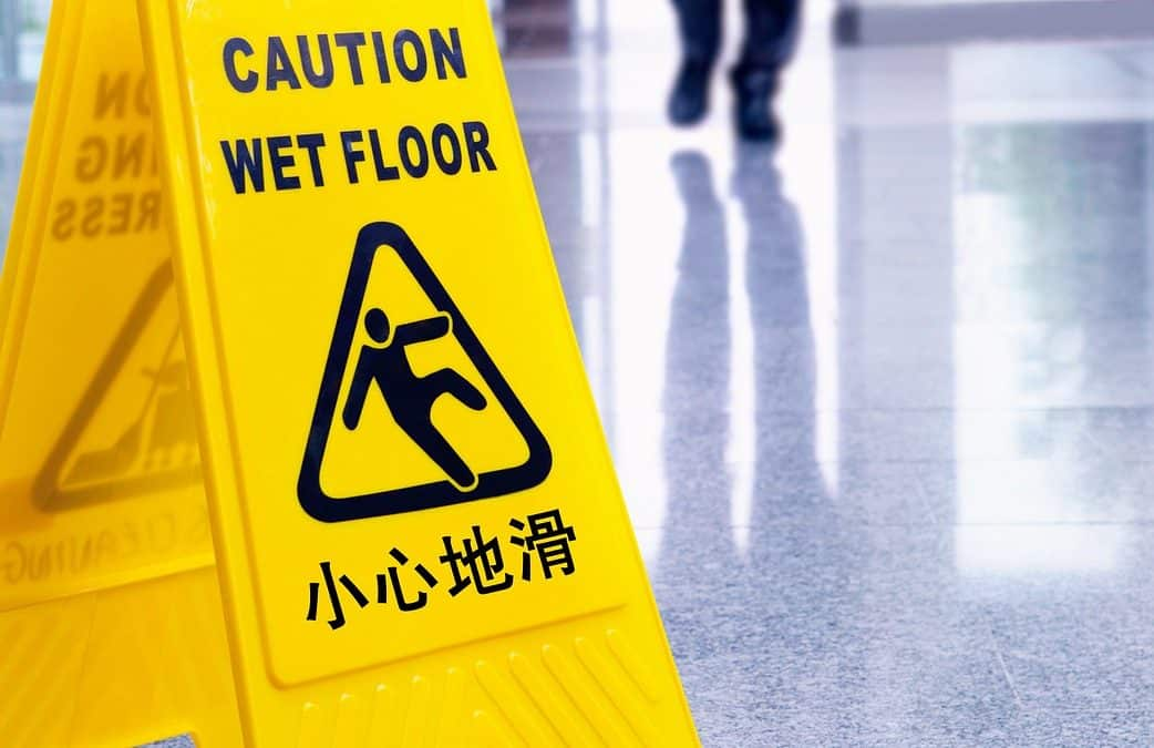 preventing injury slip and fall