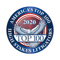America's Top 100 High Stakes Litigators 2020